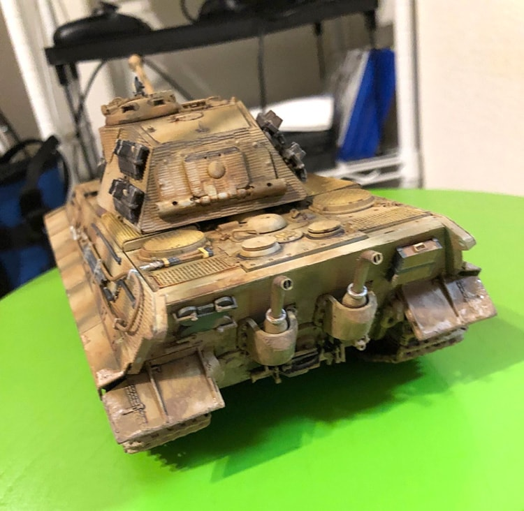 戦車プラモデル完成