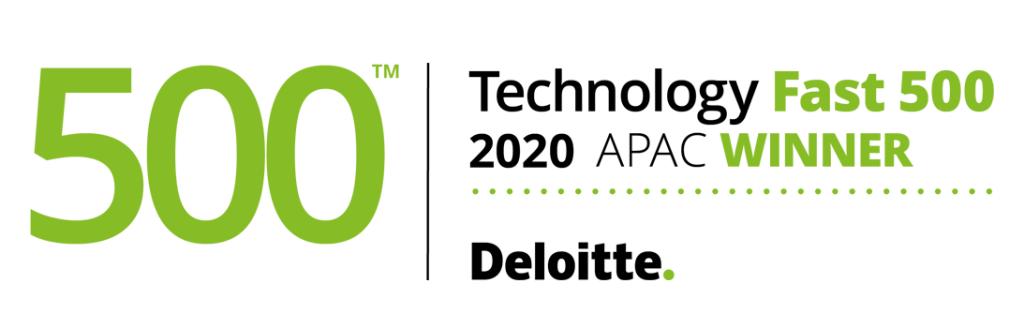 「デロイト 2020年 アジア太平洋地域テクノロジーFast 500」に選出のアイキャッチ